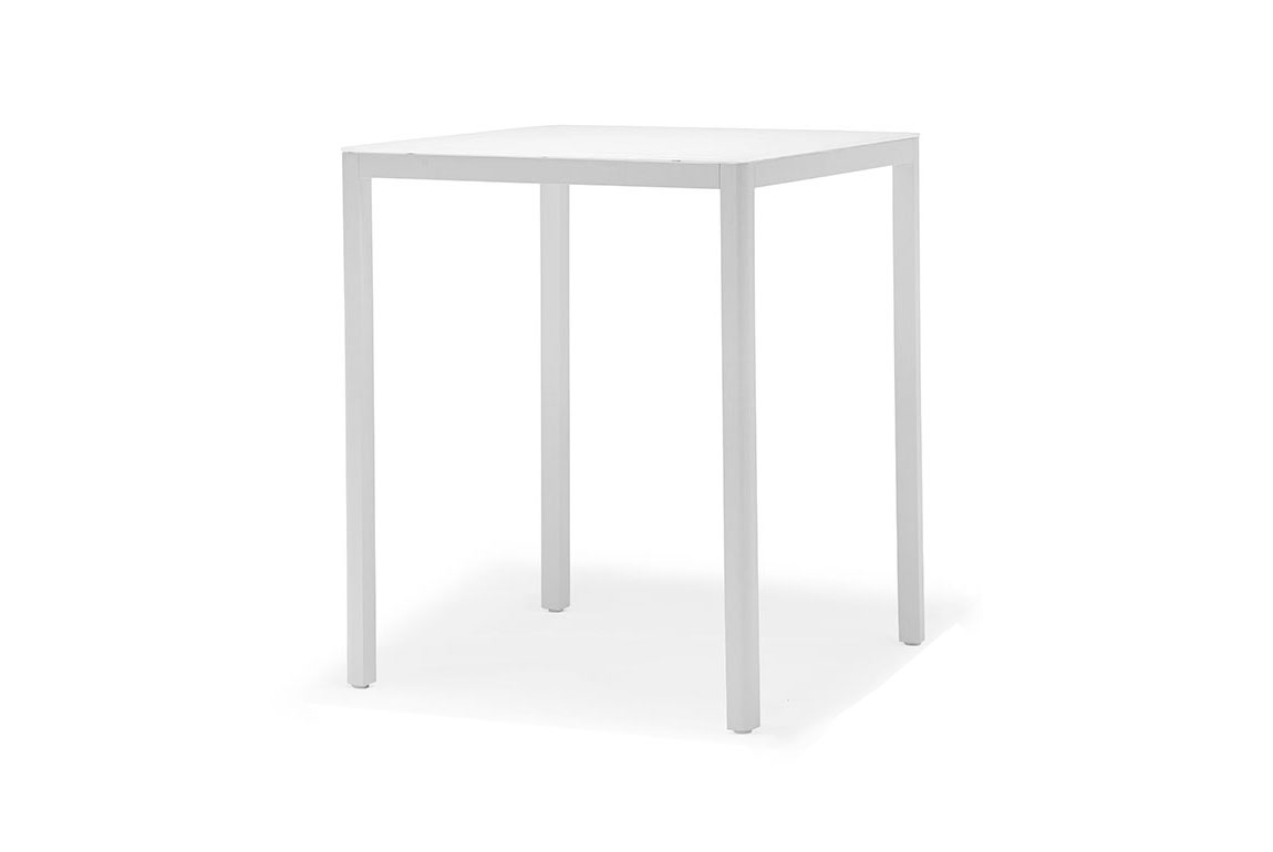 Ella bar table with glass/HPL top