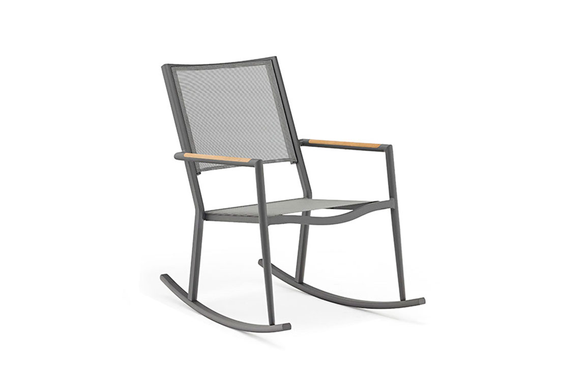 180110 Polo ant rocking chair anthracite